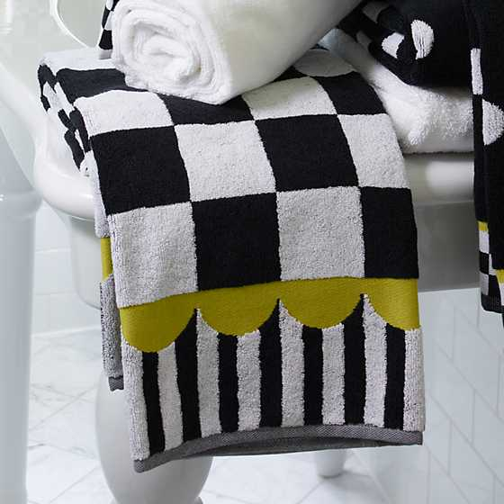 Courtly Check Bath Towel image three