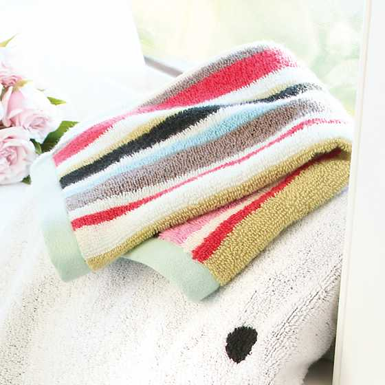 Chelsea Stripe Washcloth image two