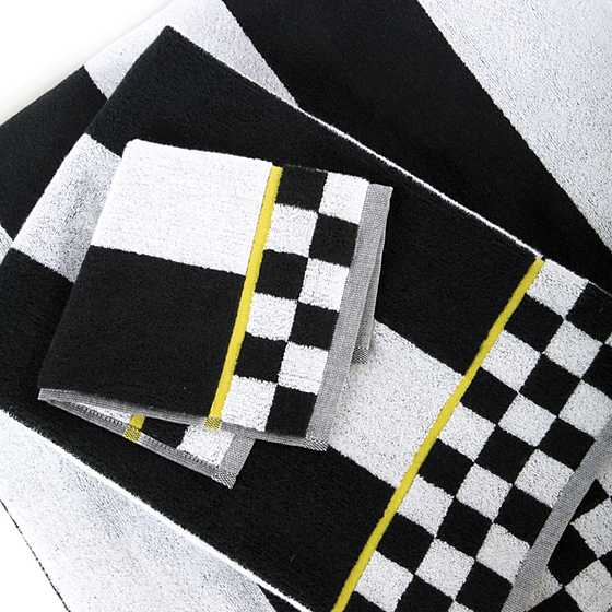 Courtly Stripe Washcloth image three