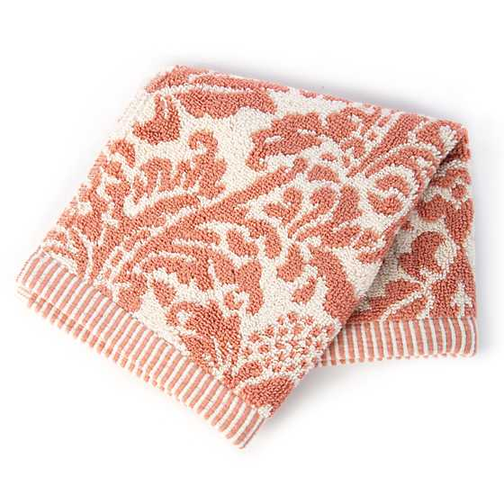 Canterbury Washcloth - Blush image two