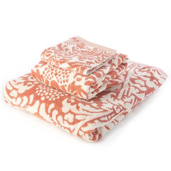 Canterbury Washcloth - Blush image three