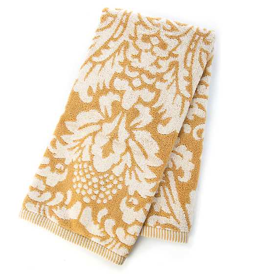 Canterbury Hand Towel - Ochre image two
