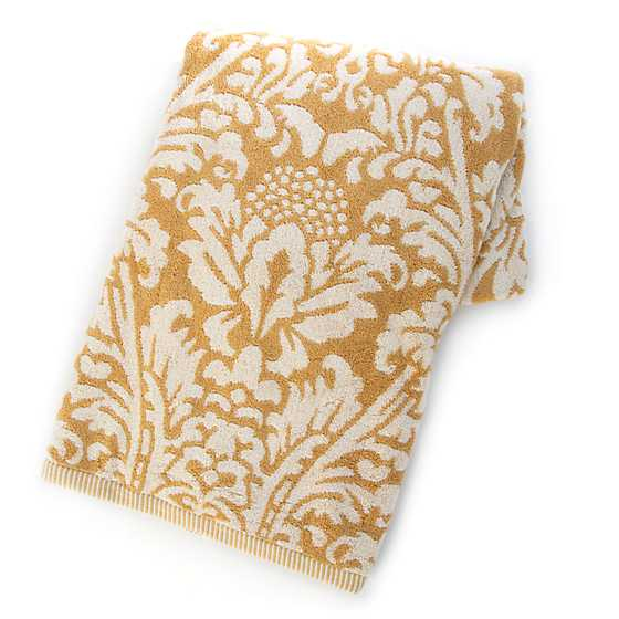 Canterbury Bath Towel - Ochre image two