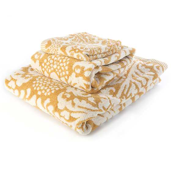 Canterbury Bath Towel - Ochre image three