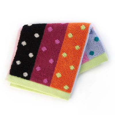 Ribbon & Dot Washcloth