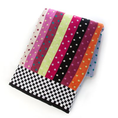 Ribbon & Dot Bath Sheet
