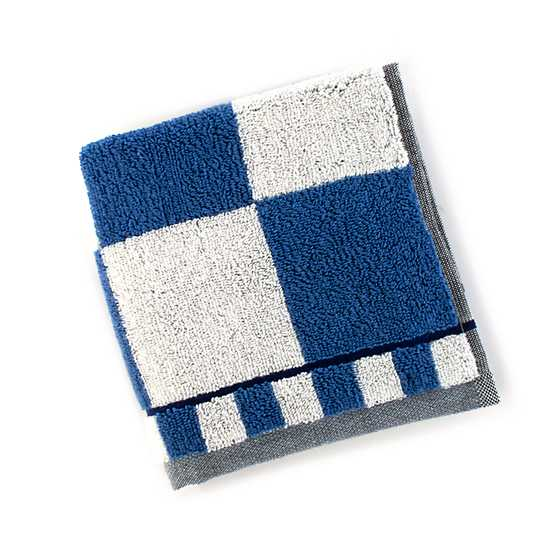 Royal Check Washcloth image one