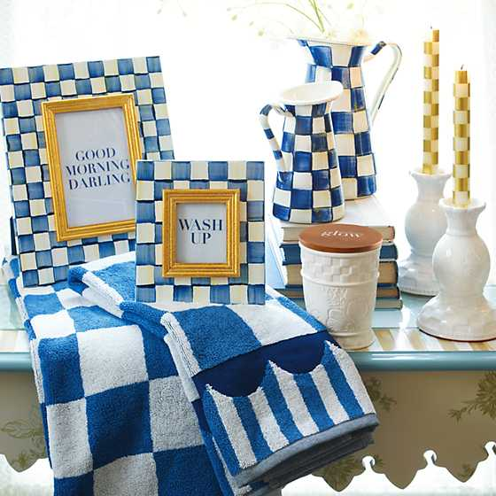 Royal Check Hand Towel image two