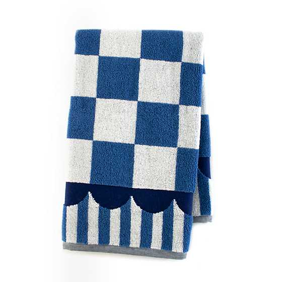 Royal Check Hand Towel