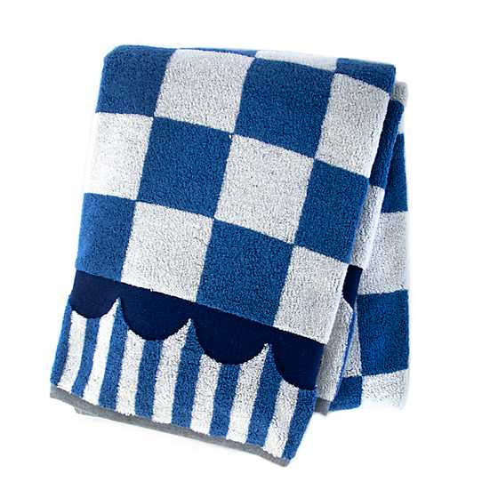 Royal Check Bath Towel