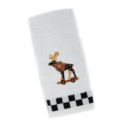 Moose Fingertip Towel