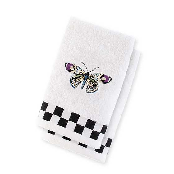 Butterfly Fingertip Towels - Set of 2 image two