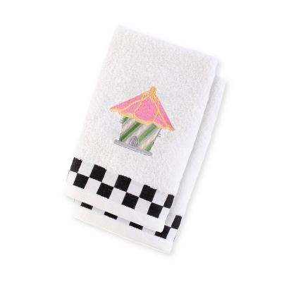 Birdhouse Fingertip Towels - Set of 2