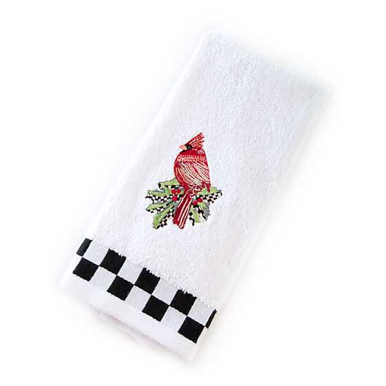 Cardinal Fingertip Towels - Set of 2 image two