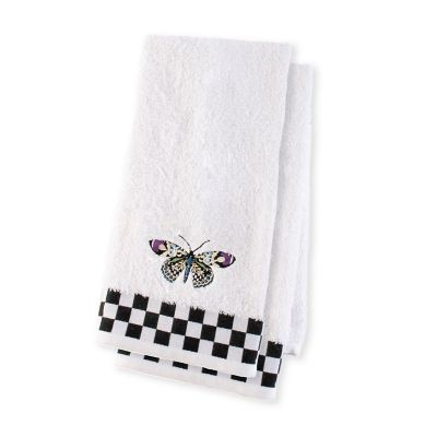 Butterfly Hand Towels - Set of 2