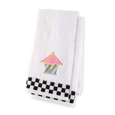 Birdhouse Hand Towels - Set of 2