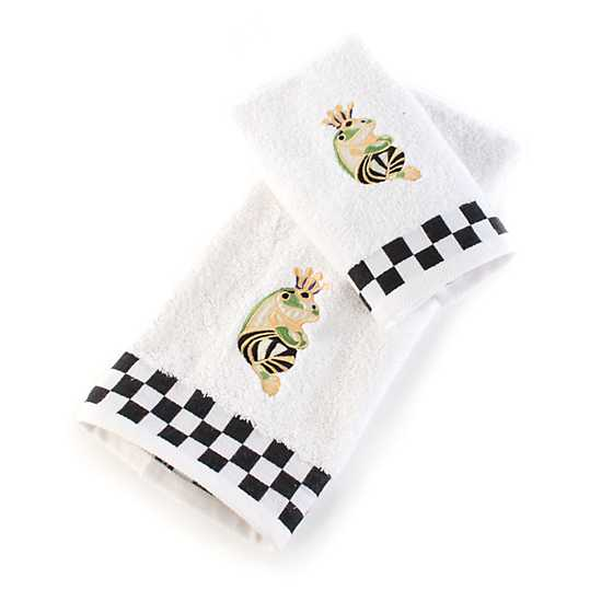 Frog Hand Towels - Set of 2 image three