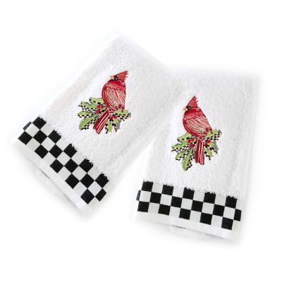 Cardinal Hand Towels - Set of 2