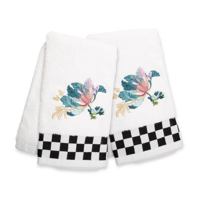 Image for Parrot Tulip Hand Towels - Set of 2