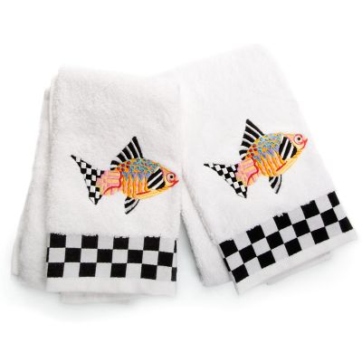 Image for Fantasia Fish Hand Towels - Set of 2