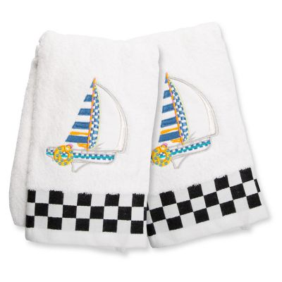 Image for Sail Away Hand Towels - Set of 2