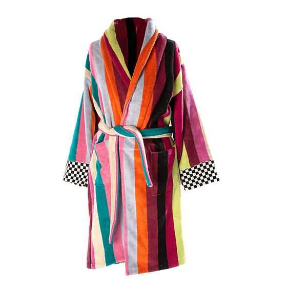 Ribbon & Dot Robe - Extra Large