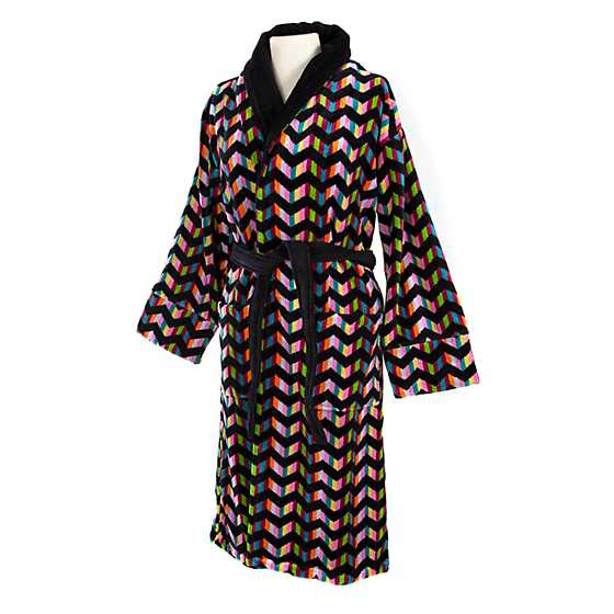 Trampoline Robe - Black - Large image two