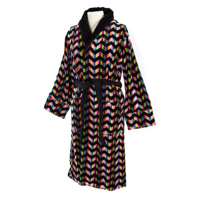 Trampoline Robe - Black - Medium