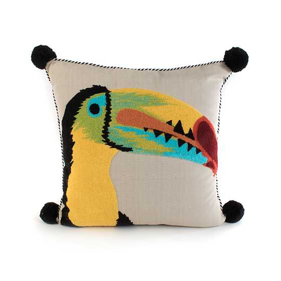 Toucan Outdoor Accent Pillow image one
