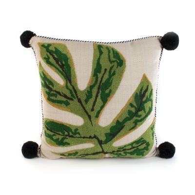 Image for Zanzibar Leaf Outdoor Accent Pillow