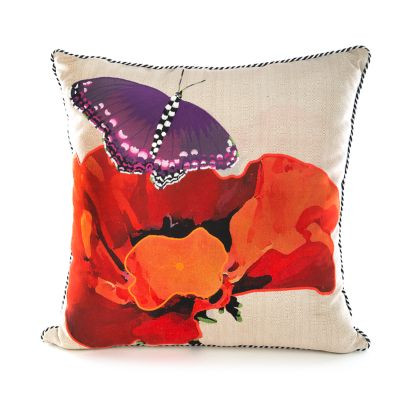 Poppy Outdoor Accent Pillow