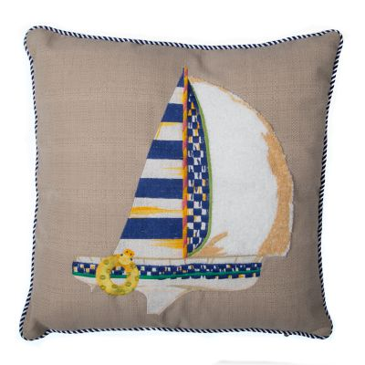 Image for Sailboat Outdoor Accent Pillow