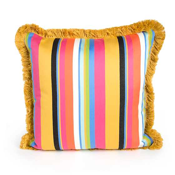 Courtyard Outdoor Throw Pillow image three