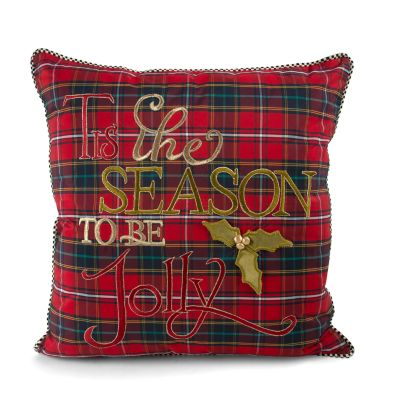 Tartan 'Tis the Season Pillow