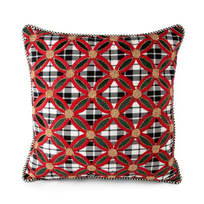 Yuletide Plaid Pillow