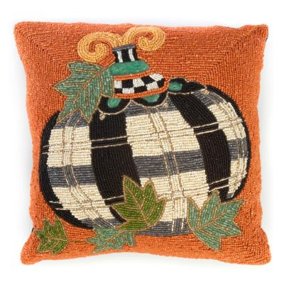 Image for Tartan Spice Pumpkin Pillow