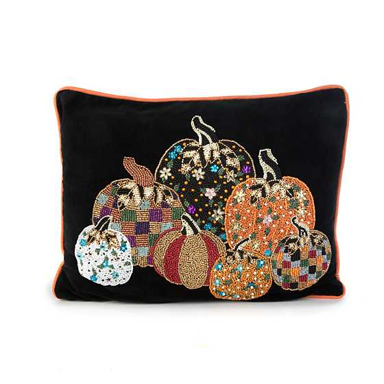 Pumpkin Party Pillow image one