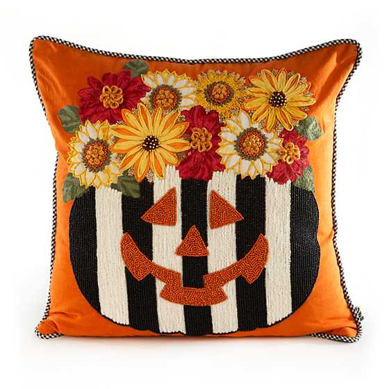 Fall Fest Pumpkin Pillow image two