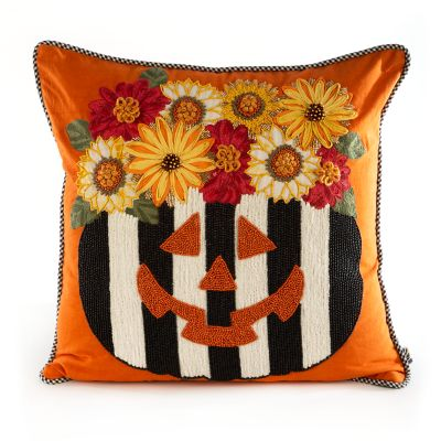 Fall Fest Pumpkin Pillow