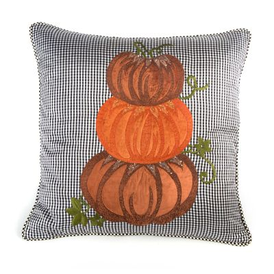 Stacking Pumpkins Pillow