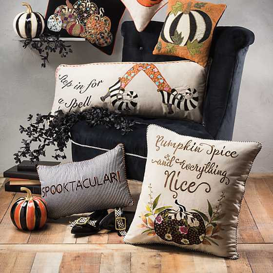 Pumpkin Spice & Everything Nice Pillow image four