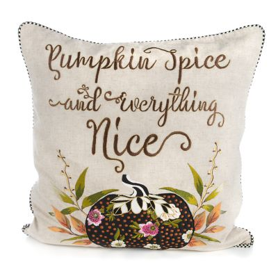 Pumpkin Spice & Everything Nice Pillow