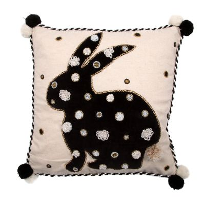 Image for Pompom Bunny Pillow