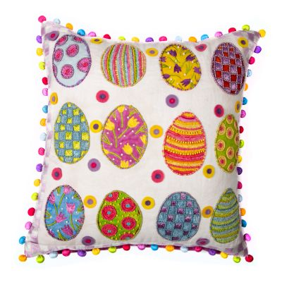 Image for Patience Brewster Painted Egg Pillow