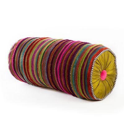 Paradise Stripe Bolster Pillow