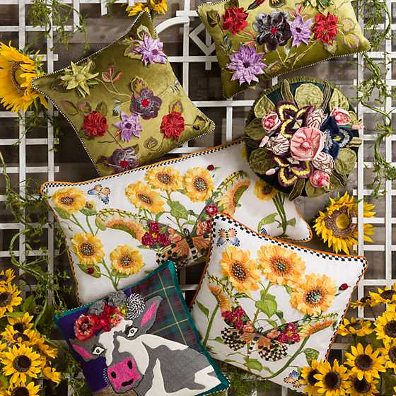Moonlight Garden Pillow image seven