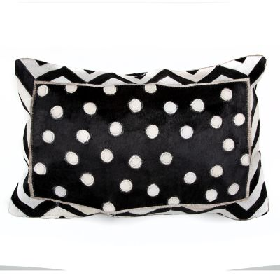 Image for Dotty Hair on Hide Lumbar Pillow