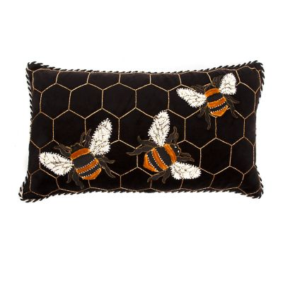 Bumble Bee Lumbar Pillow