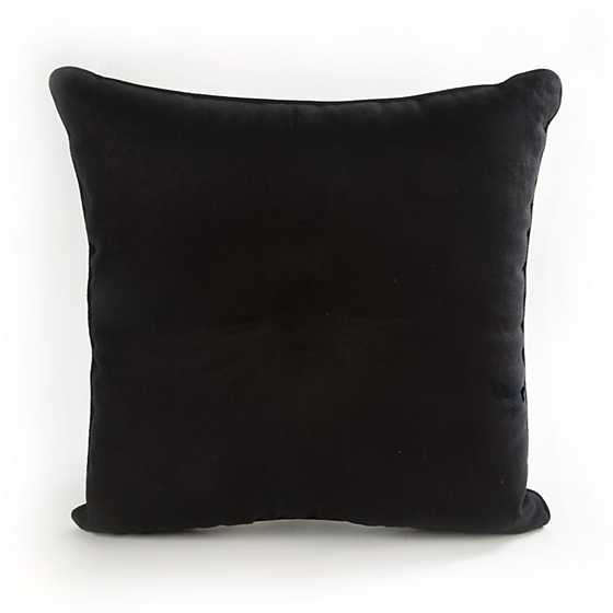 Courtly Check Button Pillow image three