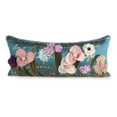 Bronte's Poetry Lumbar Pillow